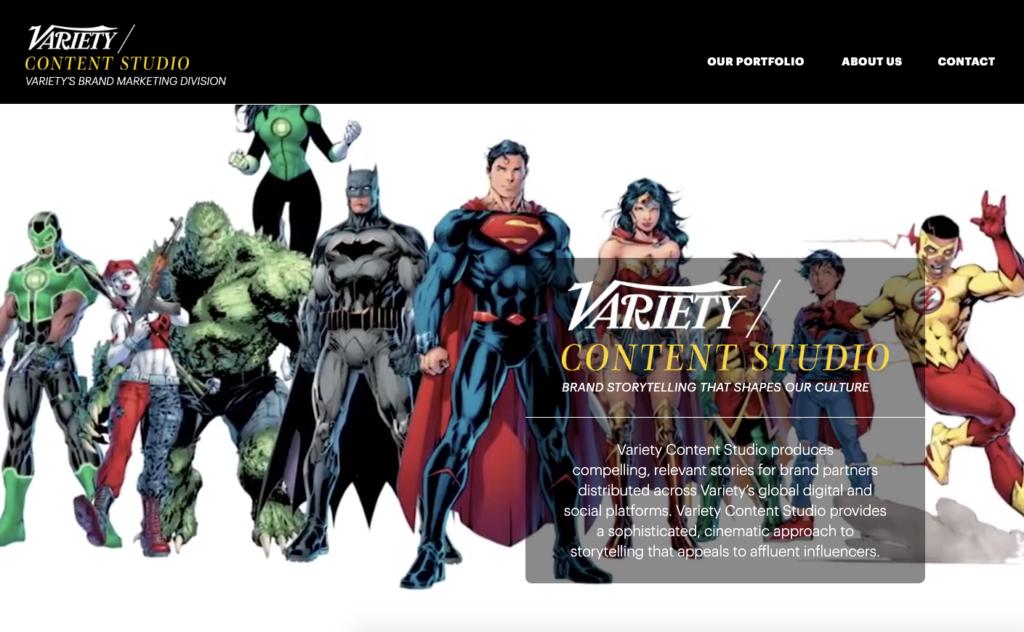 Variety's Content Studio