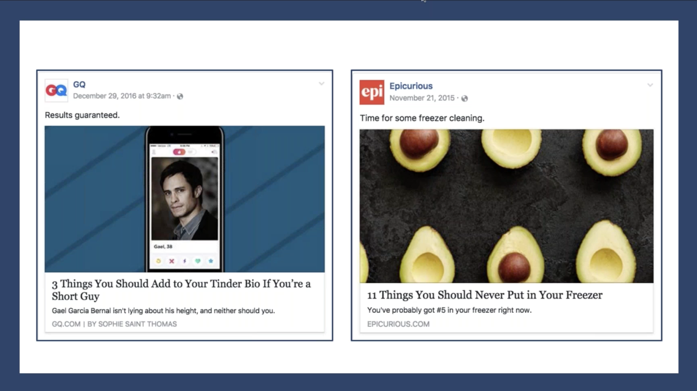High Converting Facebook Posts