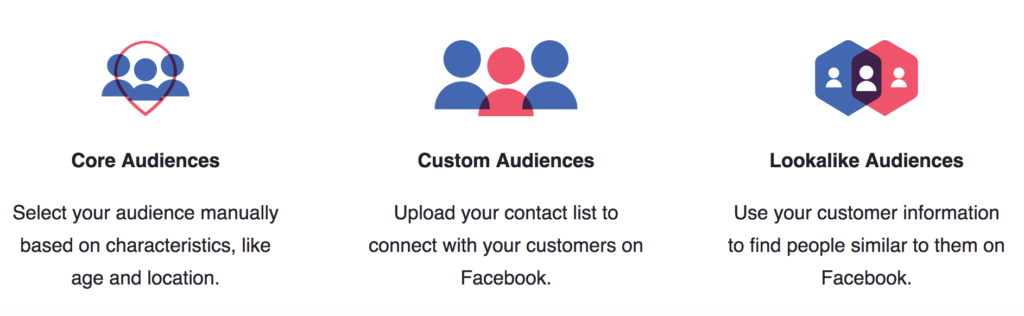 Facebook Audience Options